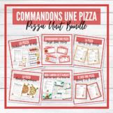 Commandons une pizza - La Pizza French Unit - BUNDLE!