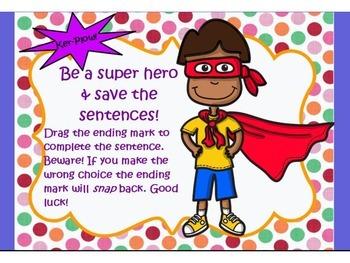 Commands & Exclamations Heroes Treasures Grammar Week 2 Flipchart