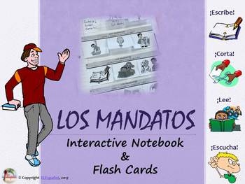 Commands PowerPoint and Interactive Notebook BUNDLE