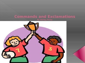 Commands and Exclamations