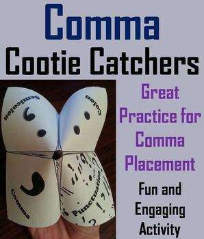 Using Commas in a Series Grammar Game for 3rd, 4th, 5th, 6