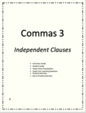 Commas 3 - Independent Clauses