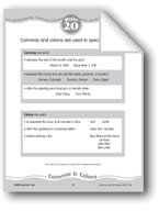 Commas & Colons
