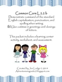 Commas ~ Common Core L 2.2b