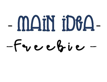 Main Idea & Comprehension- The Sun