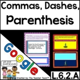 Use Commas, Parentheses, & Dashes to Set Off Elements for