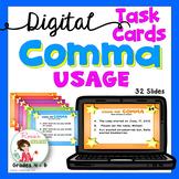 Commas -  Digital Task Cards for Google Drive