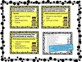 Commas For Kids PowerPoint