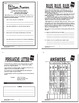 Commas Activities + COMPLETE Lesson, Poster, and Persuasive Letter Writing
