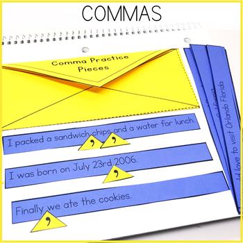 Commas Interactive Notebook
