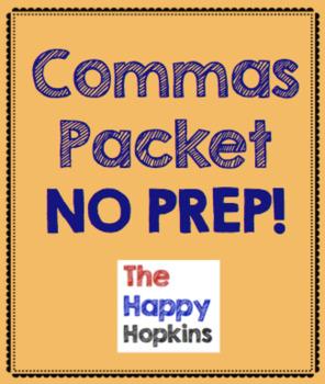 Commas NO PREP Packet