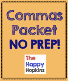 Commas NO PREP Packet