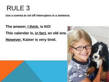 Commas Part I, 1-11