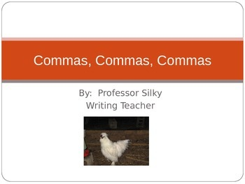 Commas Power Point