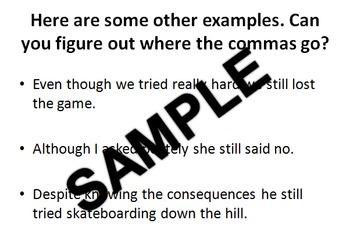 Commas PowerPoint