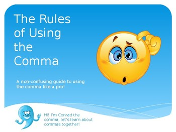 The Rules of Using the Comma