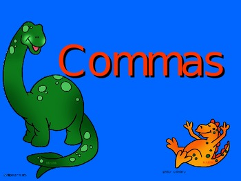 Commas Powerpoint Game