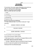 Commas Quiz 2