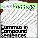 Commas in Compound Sentences: Skill-Specific Revising and Editing Passage
