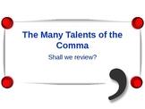 Commas Review Slideshow