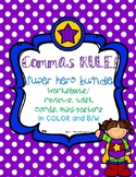 Commas Rule Bundle! Task Cards, Activity, Mini-Posters, an