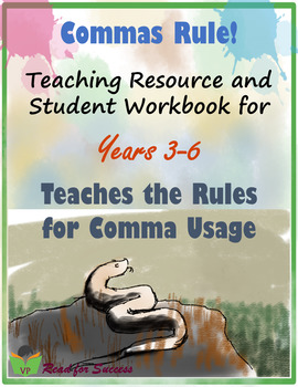 Commas Rule Workbook for Years 3-6