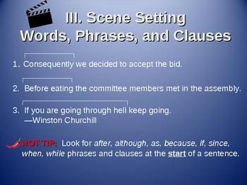 Commas Separate