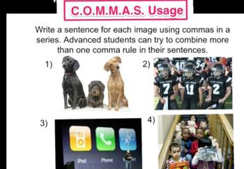 Commas Video Explanation: Commas in a Series (3 of 6)