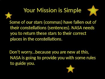 Commas and Constellations
