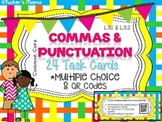 Commas and Punctuation QR Codes