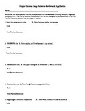 Simple Comma Usage Review and Application Worksheet