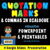 Quotation Marks PowerPoint and Worksheets