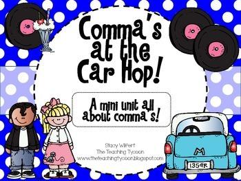 Commas at the Car Hop!