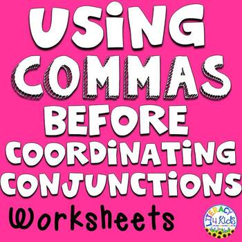 Using Commas before Coordinating Conjunctions