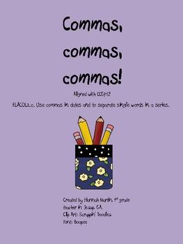 Commas, commas, commas!