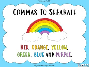 Commas for Lists