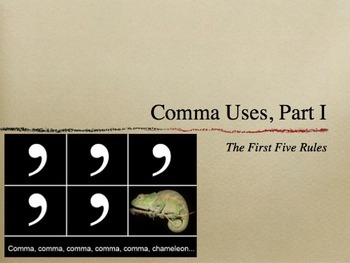 Commas grammar lesson