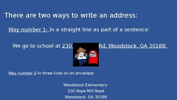 Commas in Adresses