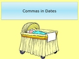 Commas in Dates, Commas in Places