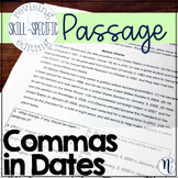Commas in Dates: Skill-Specific Revising and Editing Passage