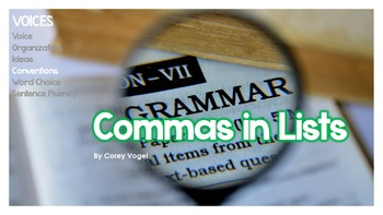 Commas in Lists