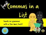 Commas in a List with a Star Wars Twist