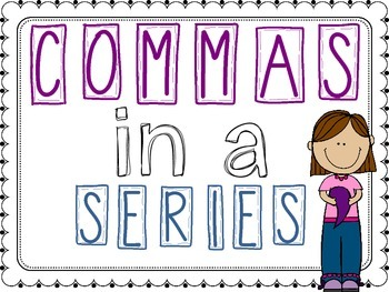 Commas in a Series