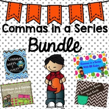 Commas in a Series Bundle