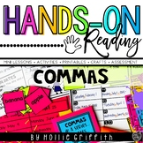 Commas in a Series, Commas in Dates L.1.2.c {Hands-on Reading}