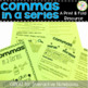 Commas in a Series Print & Fold Booklets and Work Mats Bundle GREAT FOR CENTERS