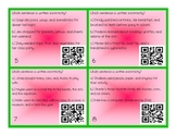 Commas in a Series QR Codes / Task Cards