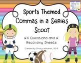 Commas in a Series: Sports Theme