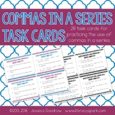 Commas in a Series Task Cards