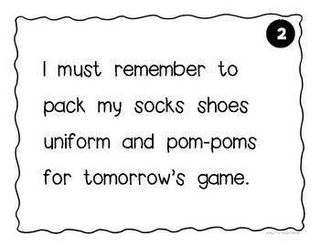 Commas in a Series Work Mats for Centers & Scoot Activities ELA TEST PREP